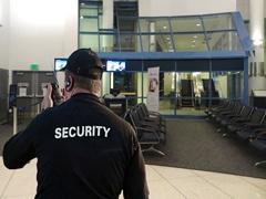 Security Guard at an Airport