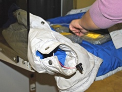 Assembling a Suicide Bomber's Jacket