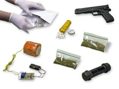Different Types of Mailroom Threats - Powders, Explosive Devices, Drugs, Weapons